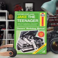 Personalised Haynes Explains Teenagers Book