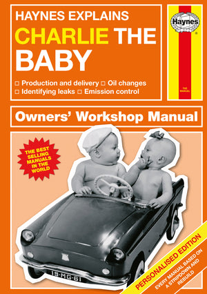 Personalised Haynes Explains Babies Book