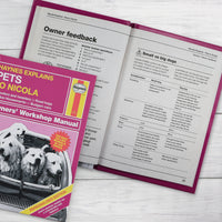 Personalised Haynes Explains Pets Book