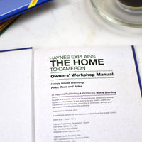 Personalised Haynes Explains the Home Book