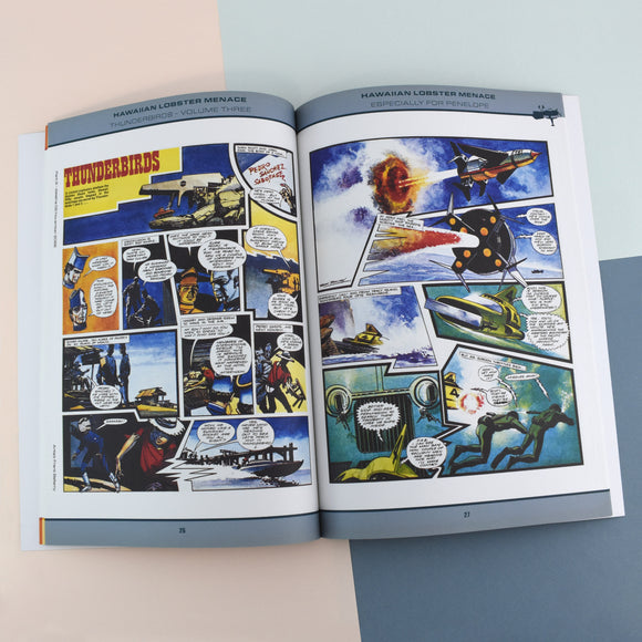 Personalised Thunderbirds Volume Three Book