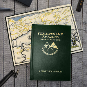 Personalised Swallows and Amazons Book