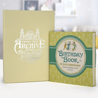 Personalised Kate Greenaway Birthday Book