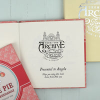 Personalised A is for Apple Pie Book