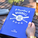 Personalized Baseball Quiz Book