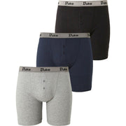 Mens Duke King Size Plus Big Extra Large 100% Cotton Boxer Shorts Underwear
