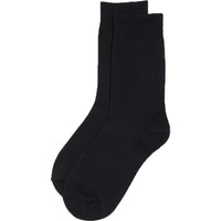 6 x Kids Children Boys Girl Cotton Rich Plain School Socks