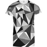 Mens Tshirt Geometric Polygon Design