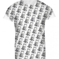 Mens Tshirt Easter Island Sub White Design