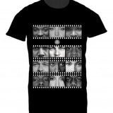 Mens Tshirt Film Strip Design