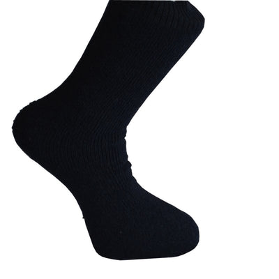 1 x Mens Work Travel Flight Nylon Rich Compression Socks