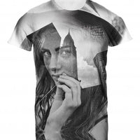 Mens Tshirt City Girl Design