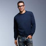 Mens Anvil Set In Cotton Rich Sweatshirt