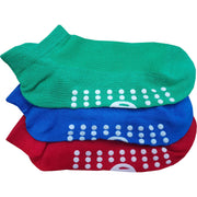 3 x Kids Trainer Grip Socks Gripper Non Skid Slip for Boys