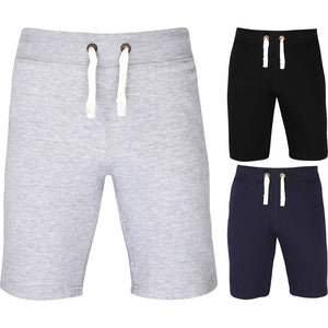 Mens Campus Heavy Weight Cotton Rich Sweat Pant Jogging Gym Sport Shorts