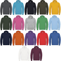 Mens Hooded Hoodie Sweatshirt Top Fleece Brushed