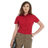 Ladies Women B&C Smart Long Sleeve Work Shirt