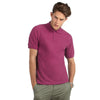 Mens B&C Heavymill 100% Cotton Short Sleeve Polo Neck Collar Shirt Top