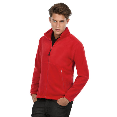 Mens Ice Walker 100% Polyester Raw Fleece Full Zip Heavy Winter Jacket