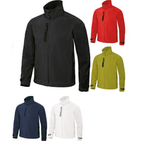 Mens X-Lite 3-Layer Softshell Performance Microfibre Fleece Light Jacket Top