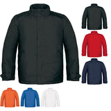 Mens Real+ Water Proof Warm Comfortable Parka Microfibre Collar Zip Coat Jacket