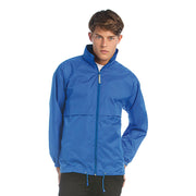 Mens B&C Air Wind Breaker Waterproof Full Zip Jacket Coat