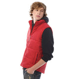 Mens Body Warmer Bomber Sleeveless Waist Full Zip Jacket Coat