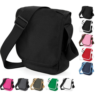 Bag Base Mini Small Reporter Messenger Bag with Adjustable Shoulder Strap