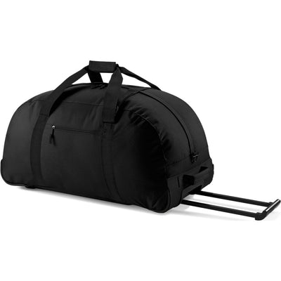 Bag Base Classic Wheelie Wheel Flight Travel Holiday Holdall with Shoulder Strap