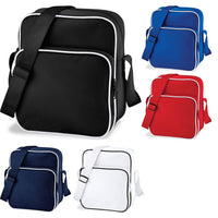 Bag Base Retro Day Bag Pouch with Shoulder Strap