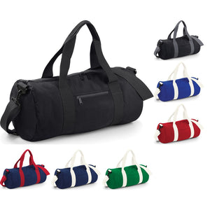 Bag Base Varsity Barrel Duffel Gym Sport Bag Sack