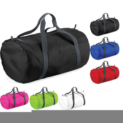 Bag Base Pack Away Foldable Ultra Light Barrel Duffel Gym Sport Bag