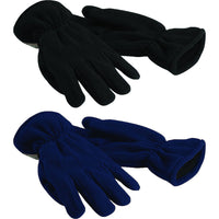 Adult Men Ladies Beechfield Winter Warm Fleece Thinsulate Thermal Lining Gloves