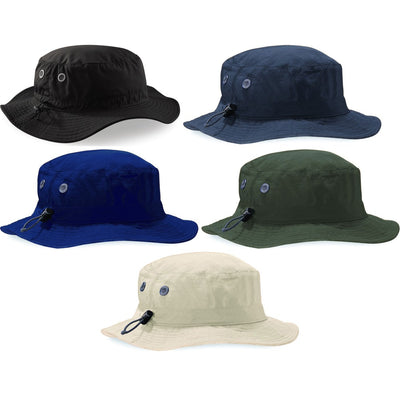 Adult Cargo Bucket Summer Hat with Mesh Lining