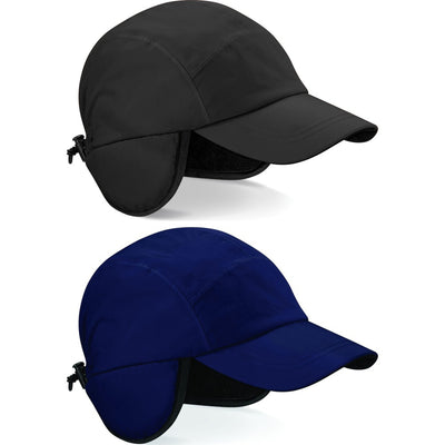 Beechfield Waterproof Taped Seem Mountain Cap with Back Cover Flap
