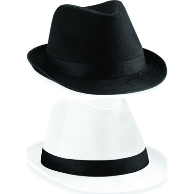 Adult Unisex Men Women Beechfield Fedora Fashion Hat