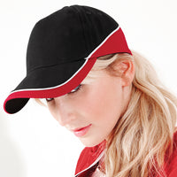 Adult Unisex Men Women Beechfield Cotton Teamwear Competition Baseball Cap Hat