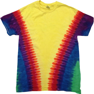 Mens Colortone Rainbow Colour Heavy Weight 100% Cotton T Shirt Top