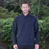 Mens Craghopper Basecamp Microfleece Polyester Half Zip Light Micro Fleece Top