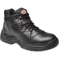 Mens Dickies Fury Super Safety Hiker Hike Leather and Mesh Shoes Boots Steel Toe