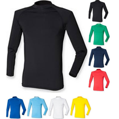 Mens Finden Hales Team Tight Fit Under Warm Turtle Neck Decoration Baselayer
