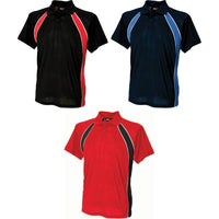 Mens Finden Hales Jersey Team Polyester Slim Fit Polo Neck Collar Shirt Top