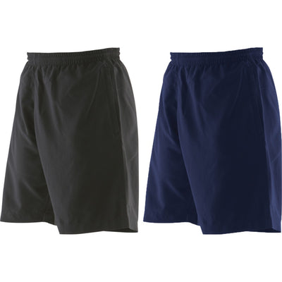 Mens Finden Hales Microfibre Mesh Lined Sport Gym Shorts