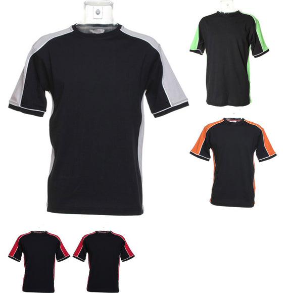 Mens 100% Cotton Jersey Knit Estoril Formula Racing Short Sleeve T Shirt Top