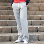 Ladies Women Front Row Brushed Cotton Rich Track Run Pants Trouser Bottoms
