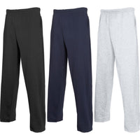 Mens Fruit of the Loom Light Weight Cotton Rich Jog Jogging Sweat Pants Bottoms