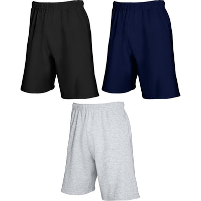 Mens Fruit of the Loom Cotton Rich Light Weight Shorts