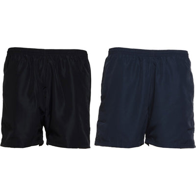 Mens Gamegear® Plain Polyester Sports Shorts with Mesh Lining