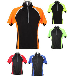 Mens Gamegear® Cooltex® Tour Cycling Polyester Zip Neck Top