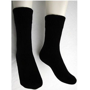 6 x Winter Warm Mens Thermal Non Elastic Loose Top Socks (Extra Thick for Cold)